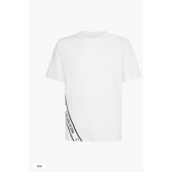 Calvin Klein - Logo Tape Gym T-Shirt White