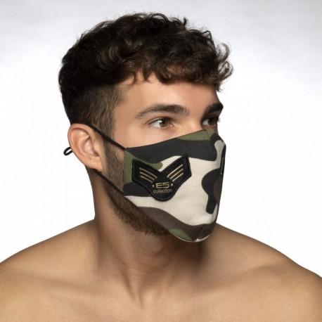 ES Collection - Camo Fleece Face Mask Camouflage