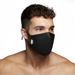 ES Collection - Fetish Tape Mask Black