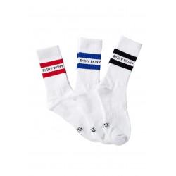 Skiny - Socks 3 Pack White