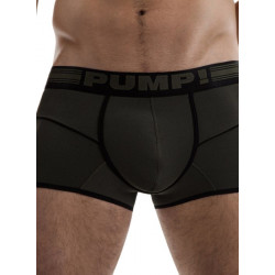 PUMP! - Free-Fit Boxer Military Green