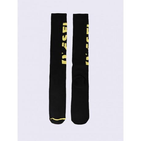 Diesel - SKM-Long Calzino Black/Yellow
