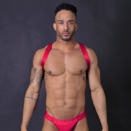 Leader - X Back Harness Red