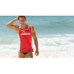 Aussiebum - Nylon Singlet Red