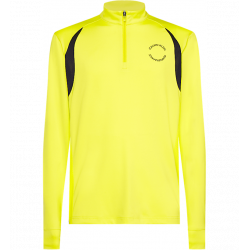 Calvin Klein - Zip Long Sleeve Fluo Yellow