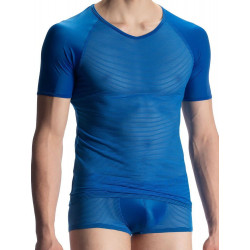 Olaf Benz - RED1913 V-Neck T-Shirt Blue