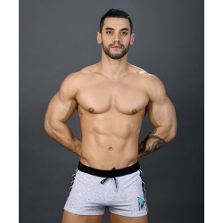 Andrew Christian - California Muscle Beach Shorts White