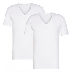 Calvin Klein - V-Neck 2Pack T-shirt White