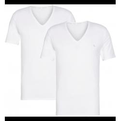 Calvin Klein - V-Neck 2Pack T-shirt White