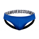 Aussiebum - Gordon Jock White + Royal Blue
