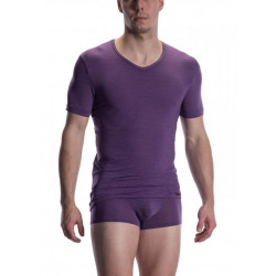 Olaf Benz - RED2002 V-Neck Regular Aubergine