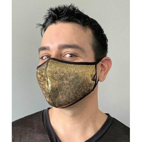 Andrew Christian - Golden Glam Mask