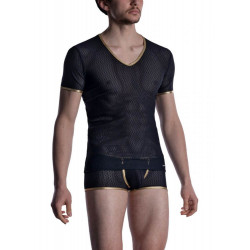 Manstore - M2008 V-Neck Tee Low Black